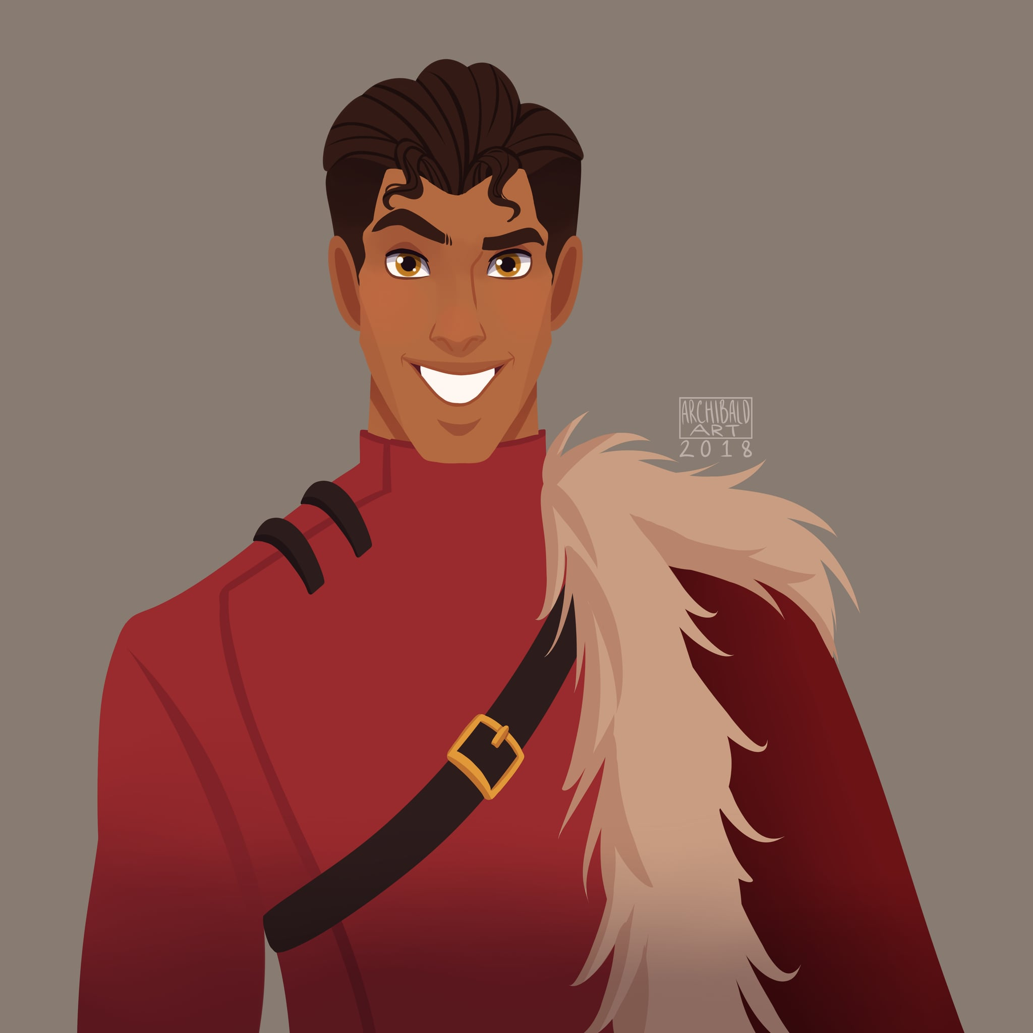 Prince Naveen From The Princess And The Frog In Durmstrang This