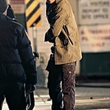 Joshua Jackson Gets Down and Dirty on the Set of Fringe