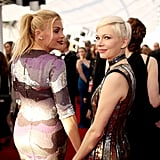 Pictured: Michelle Williams, Busy Philipps