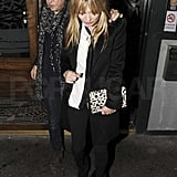 Influential Kate Keeps the Parties Coming With Jamie in London