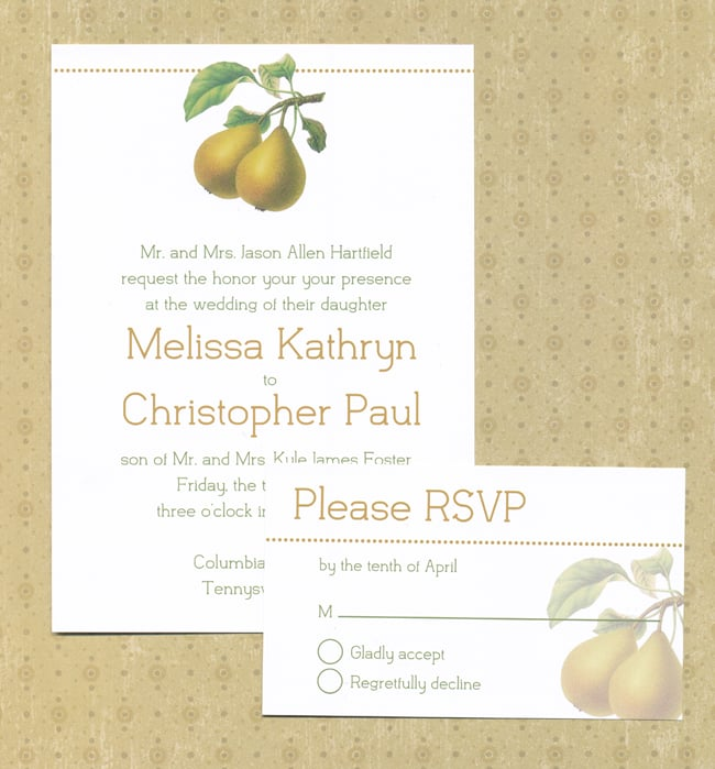 free printable wedding invitations popsugar smart living - Picture Wedding Invitations