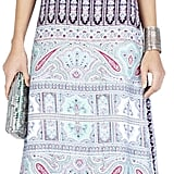 BCBG Max Azria Kyla Printed Crop-Top Maxi Dress ($398)