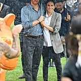 Prince Harry and Meghan Markle Australia Tour PDA Pictures