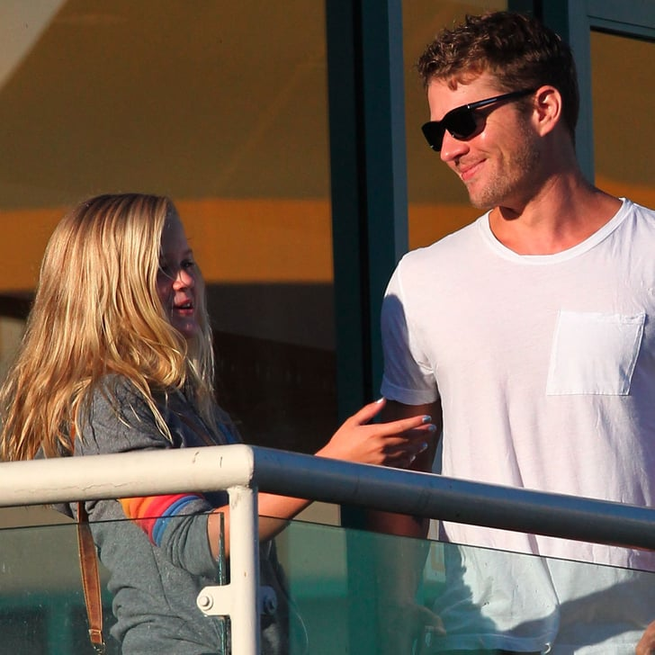 Ryan Phillippe With His Kids Ava And Deacon In LA