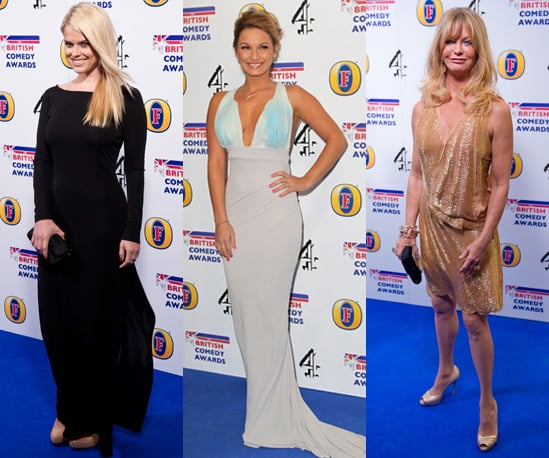 Photos of the Red Carpet at the 2011 British Comedy Awards in London