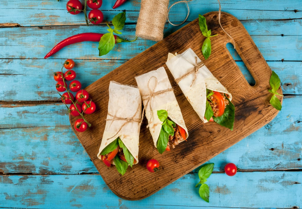 Opt for corn tortillas instead of refined carb breads at meal time