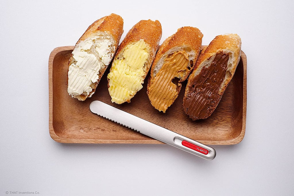 That! Inventions Spread That Serrated Warming Butter Knife and Spreader