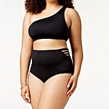 Becca Etc Asymmetrical One Shoulder Bikini Top