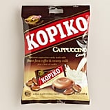 The Indonesian hard candy contains coffee bean extract and real milk! Mmm. Shop it: Kopiko Cappuccino Candies ($2)