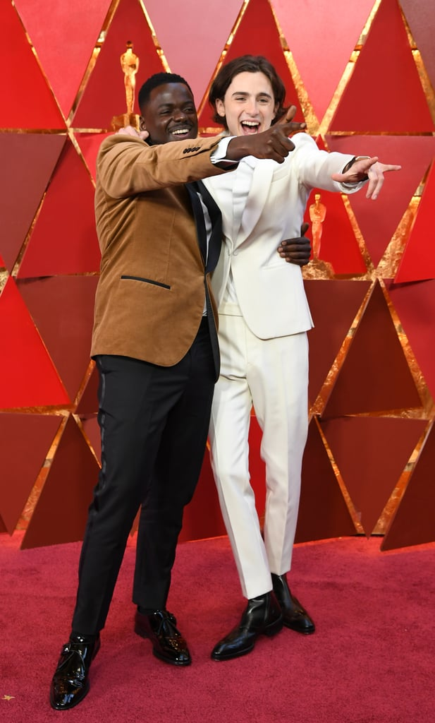 Timothée and Daniel Kaluuya