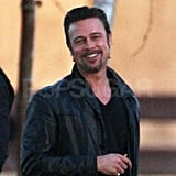 Brad Pitt Is Wheeling, Dealing, and Smiling in the Big Easy