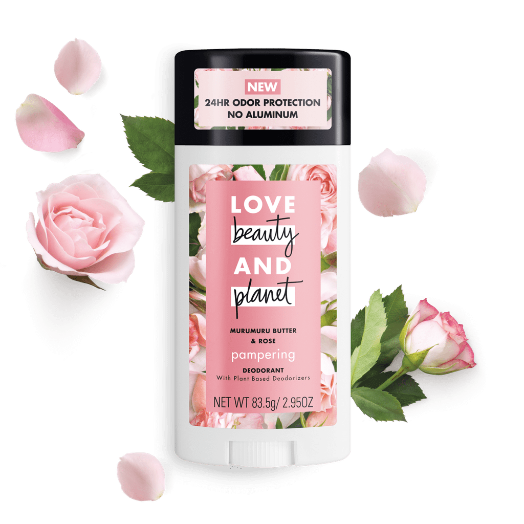Love Beauty and Planet Butter and Rose Deodorant Stick