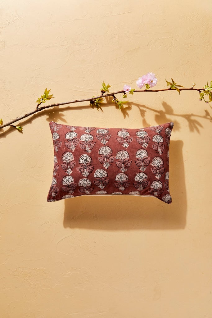 House of Harlow 1960 Creator Collab Floral Block Print Pillow Cover