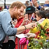 عندما رحّب هاري بهذه الفتاة الصغيرة بين الجمهور