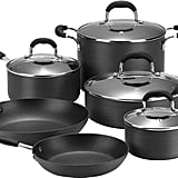 JCPenney Cooks 10-pc Classic Hard Anodized Nonstick Cookware Set