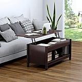 TANGKULA Coffee Table Lift TopStorage Coffee Table w/Hidden Compartment