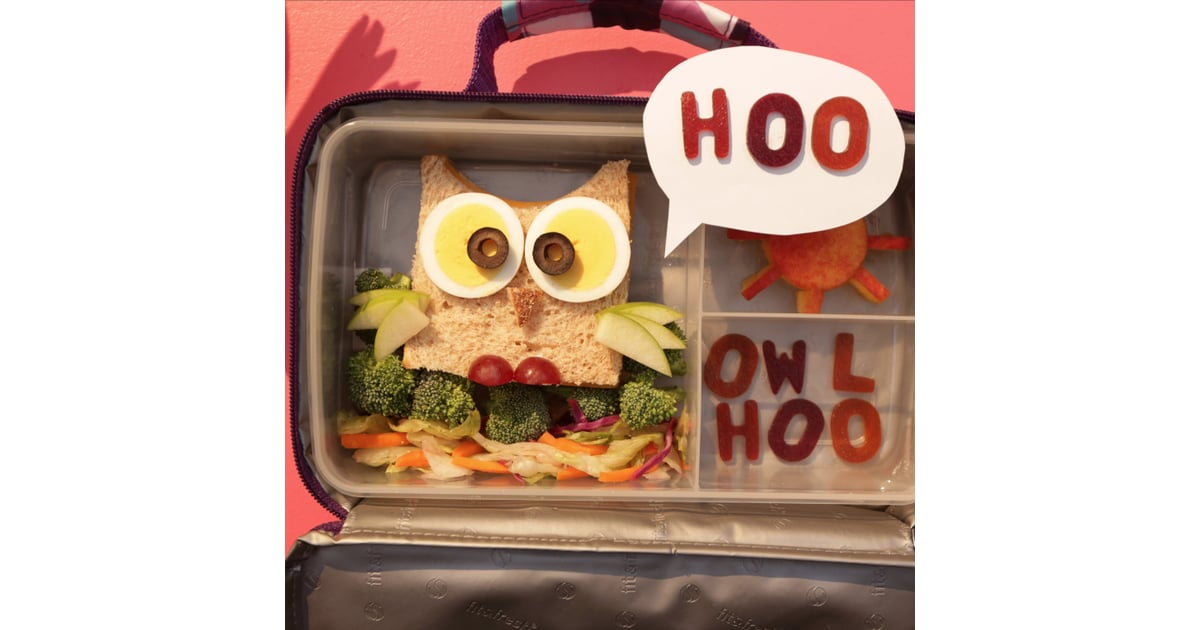 Make A Cute Owl Sandwich For Your Kids School Lunch Box