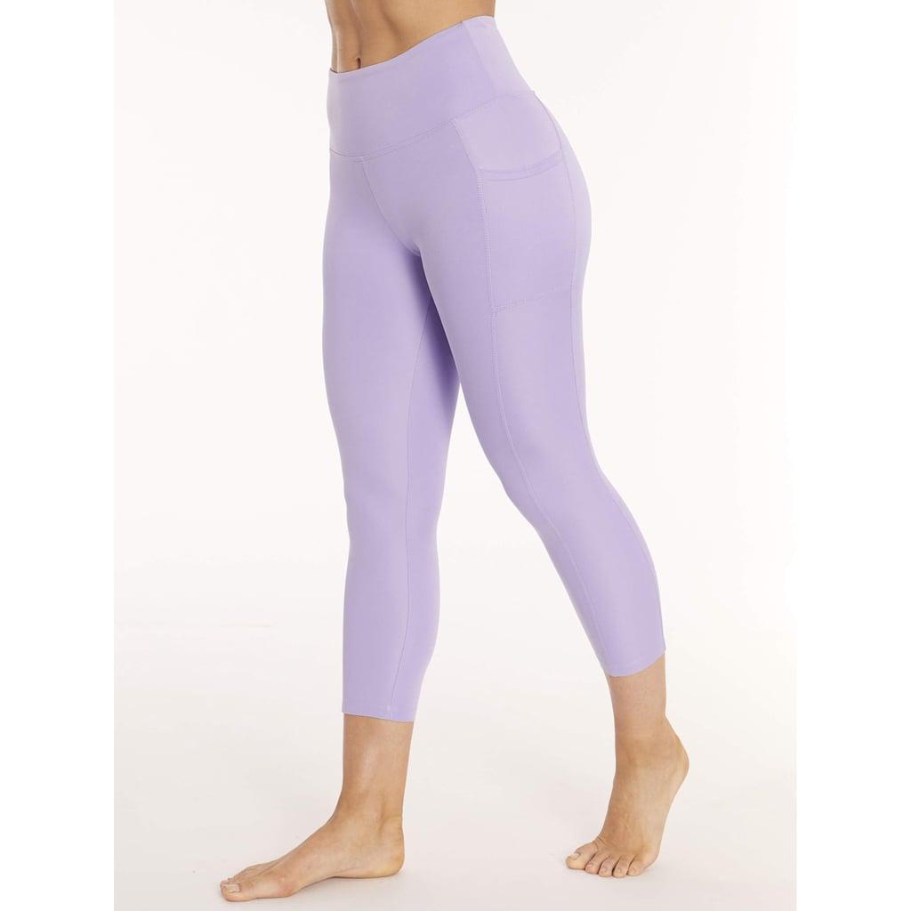 37ed6d1379ceeb Bally Total Fitness Women's Active Core High Rise Capri Leggings ...