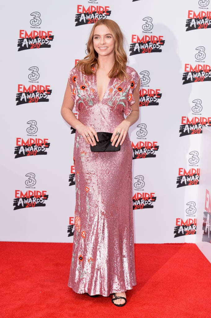 Jodie Comer at the 2017 Empire Awards