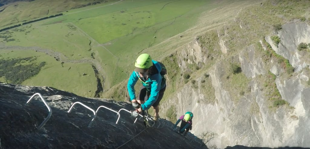 "Are you the kind of person who likes to say ""challenge accepted"" when people imply you wouldn't dare do something? If so, then this new Wanaka Waterfall climb is what your adventurous dreams are made of. Travelers can brave the world's highest waterfall via ferrata climb, called Lord of the Rungs, which is ""wild, wet and 450 meters on high."" The climb takes about seven hours, and once you reach the top, you descend back down via helicopter. As you ascend, you'll see the Twin Falls flowing down a sheer rocky hillside near the South Island alpine resort town of Wanaka. The route to the top is not for the faint of heart; it follows ""a kilometer of cables, weaving over, above and behind the waterfalls, and crosses a 35-meter Tyrolean traverse (crosses free space between two high points on a rope/cable!) using a pulley. Add the breathtaking backdrop of sweeping views to the valley below and the surrounding mountains to the exhilaration of being on a mountainside, and there's drama at every twist and turn.""  Even if you prefer to keep your feet firmly planted on the ground, the videos and photos of the climb are undeniably stunning. Take a look at this incredible experience.      Related:                                                                                                           These Dazzling Glowworm Caves in New Zealand Are a Sight to Behold"
