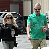 Reese and Jim Relax Prior to Her Wild Night at the MTV Movie Awards