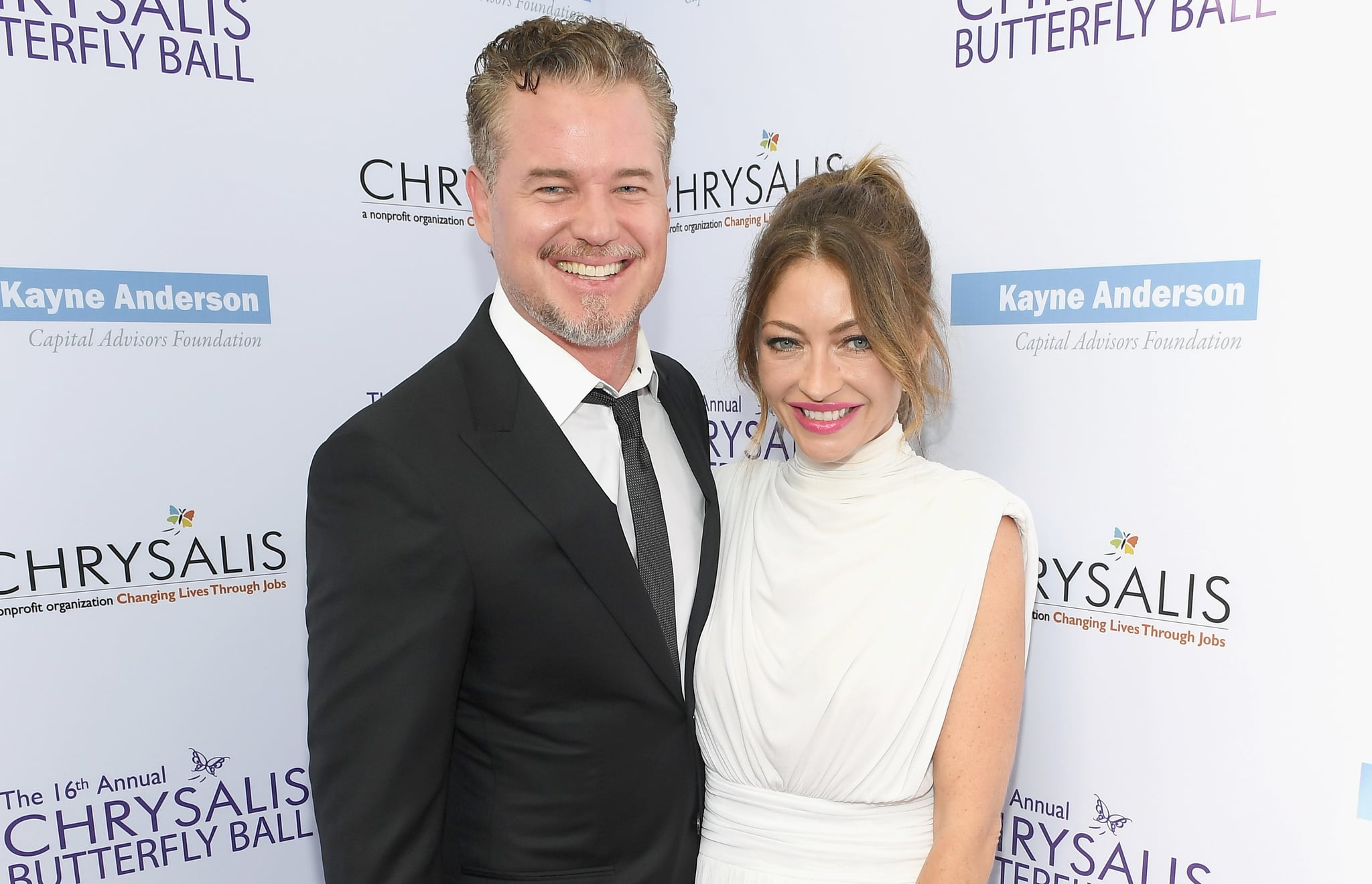 Image result for Rebecca Gayheart filed for divorce from Eric Dane after 14 years of marriage.