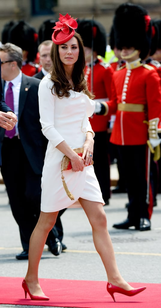 The Duchess of Cambridge Canada Style Pictures