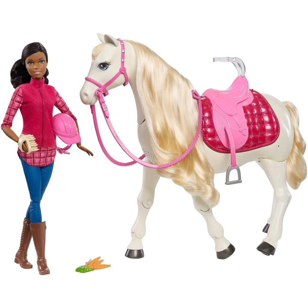 For 3-Year-Olds: Barbie Dream Horse and Doll