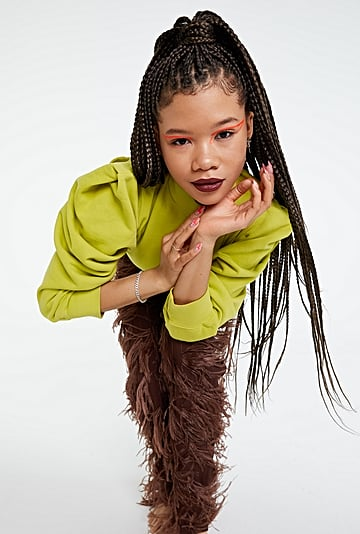 """Storm Reid Talks Euphoria and """"Taking Up Space"""" in Beauty"""
