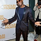 Usher arrived in style on the red carpet.