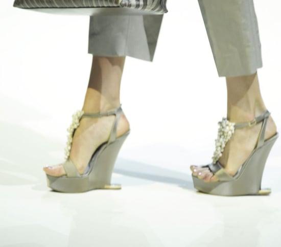 Wedges From Milan Fashion Week Spring 2009