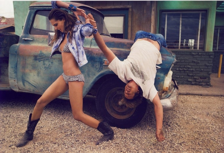 Girls On Film: Daria Werbowy, Vogue Paris, May