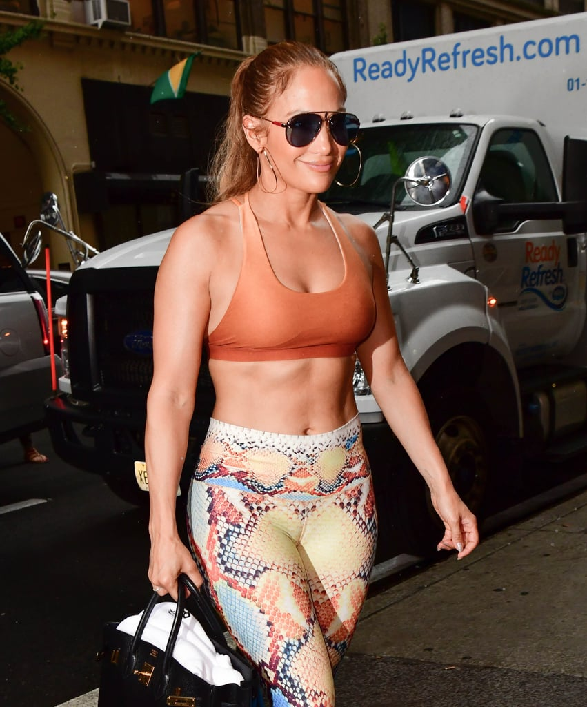 I Trained With J Lo's Trainer, and Now I Know the Secret Behind Her 6-Pack