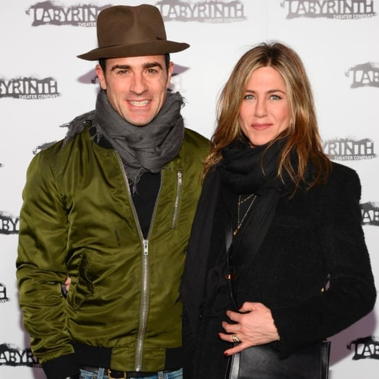Jennifer Aniston and Justin Theroux at a Theater Gala 2015
