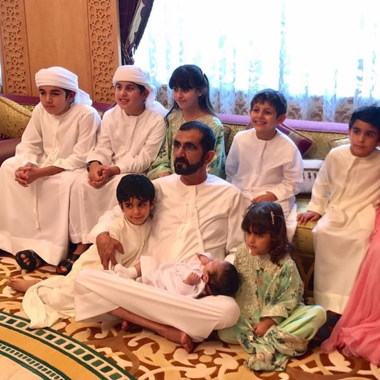 Sheikh Mo's Grandchildren Wish Him Happy Birthday