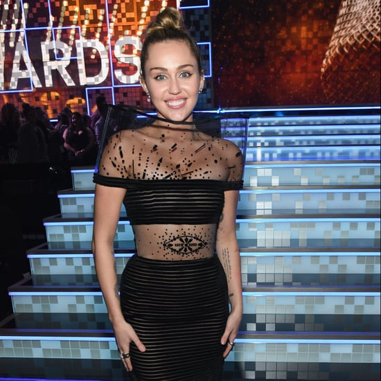 Miley Cyrus Black Dress at the 2019 Grammys