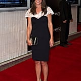 Pippa Middleton carried a cute clutch.