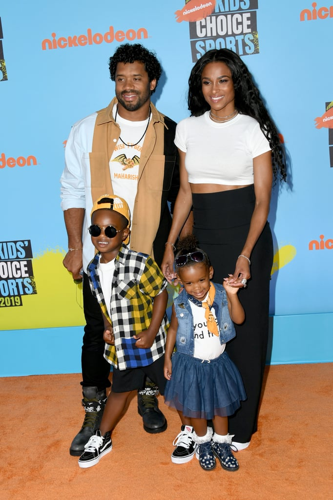 Ciara and Her Family at the 2019 Kids' Choice Sports Awards