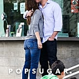 Ben and Jen Keep the Valentine's Spirit Going With Sweet PDA