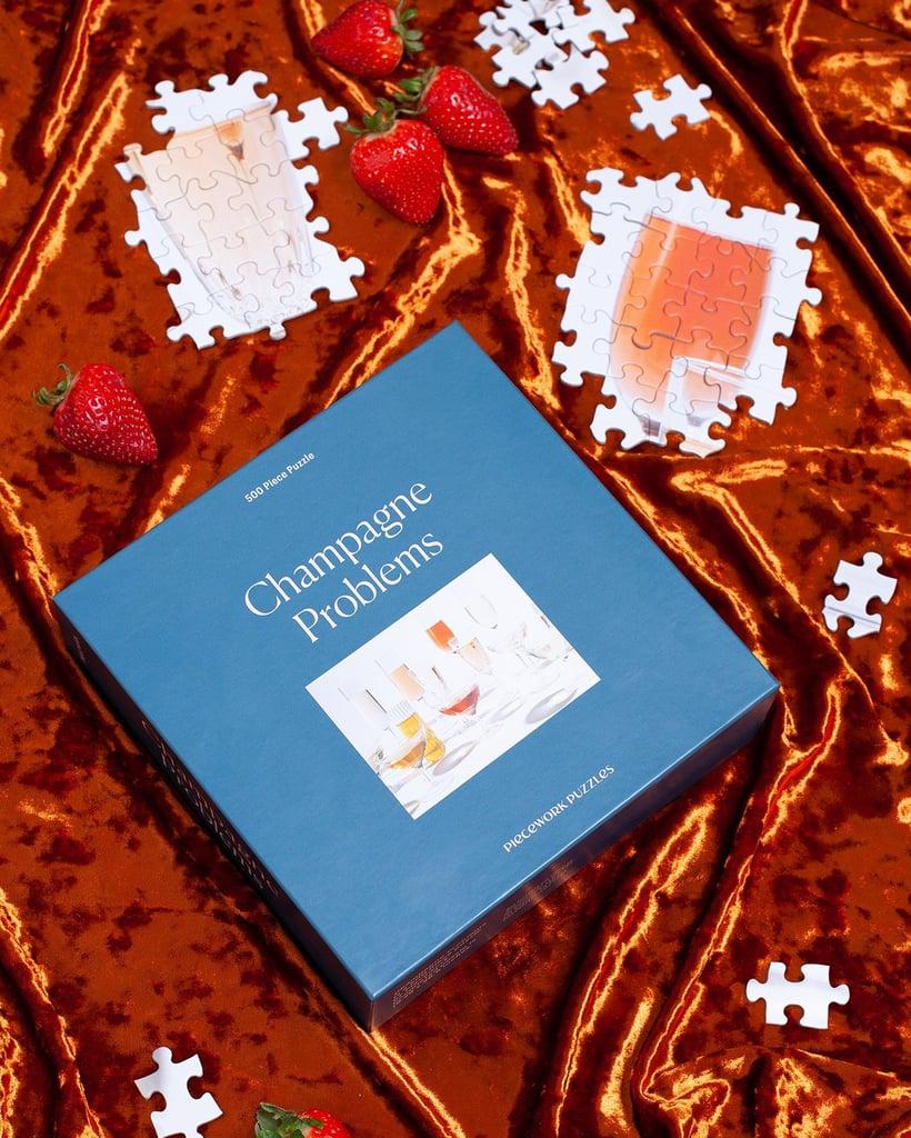 Piecework Champagne Problems 500 Piece Jigsaw Puzzle