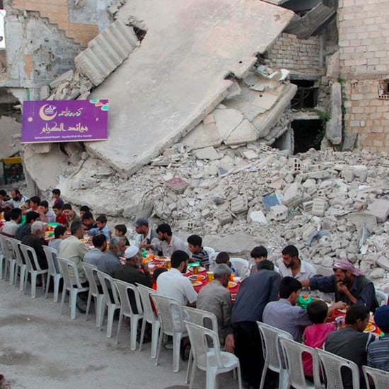 Iftar in Syria Amid Rubble