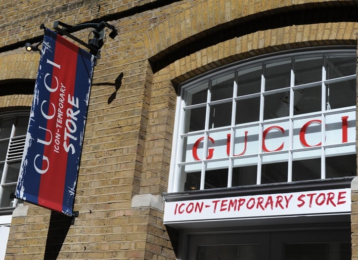 Photos from the Opening of Gucci Pop Up Store in Covent Garden