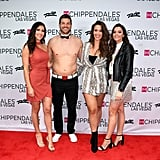 Becca Kufrin and Garrett Yrigoyen at Chippendales March 2019