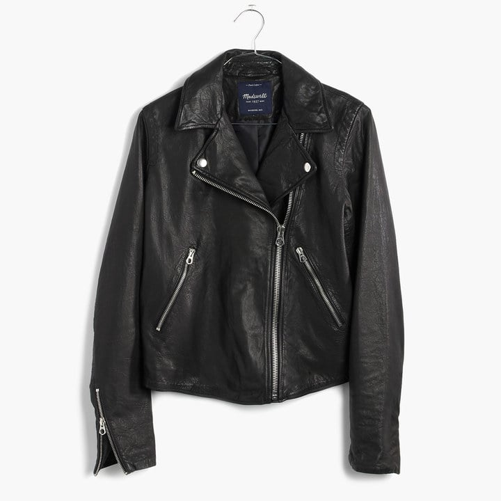 Madewell Washed Leather Motorcycle Jacket (£383)