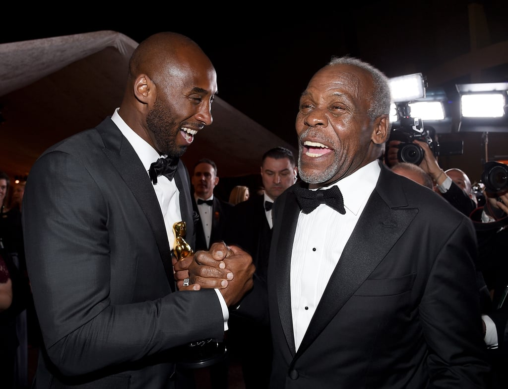 Pictured: Kobe Bryant and Danny Glover