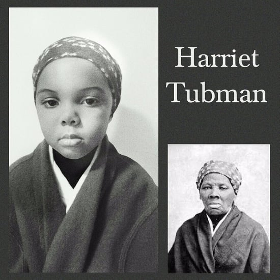 5-Year-Old Photo Tribute to Historical Black Icons