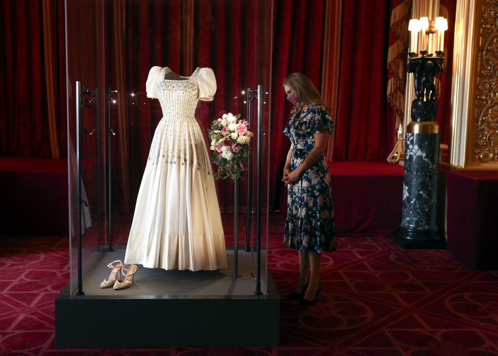 Princess Beatrice's Wedding Dress Display at Windsor Castle