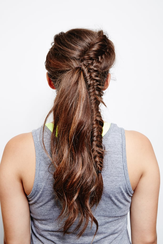 French Fishtail Ponytail: Final Look