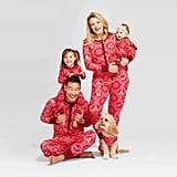 Target Holiday Snowflake Bodysuit Pajamas