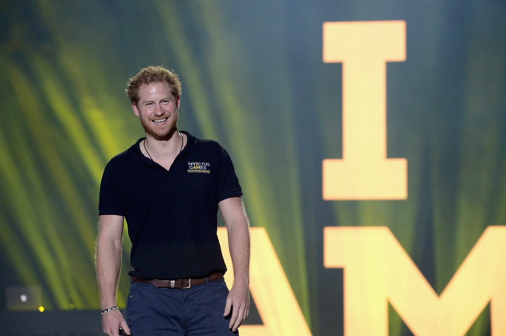 Harry had an absolute ball when he kicked off the Invictus Games — of which he is a patron — in Orlando, Florida, in May.